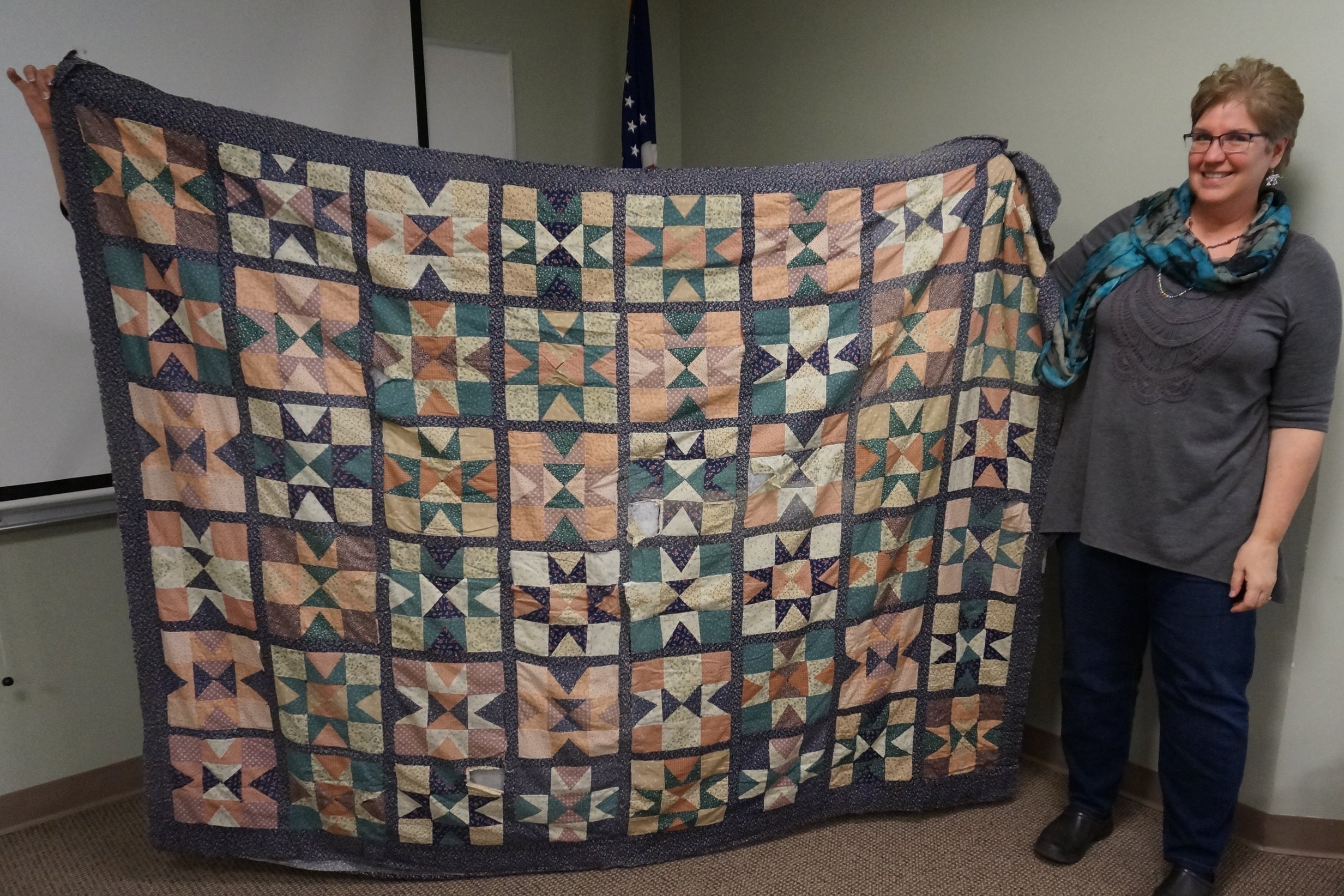 - Suzanne made her first quilt 40 years ago, and her grown son still likes to snuggle with it when he comes home.