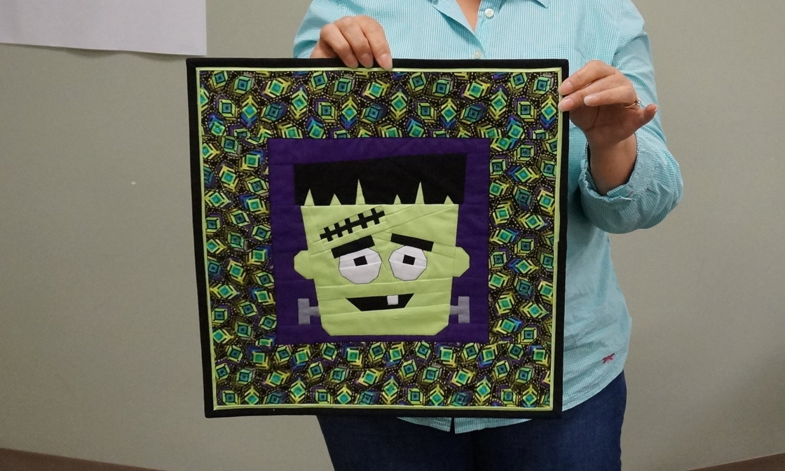 Tina finished her Frankie quilt!