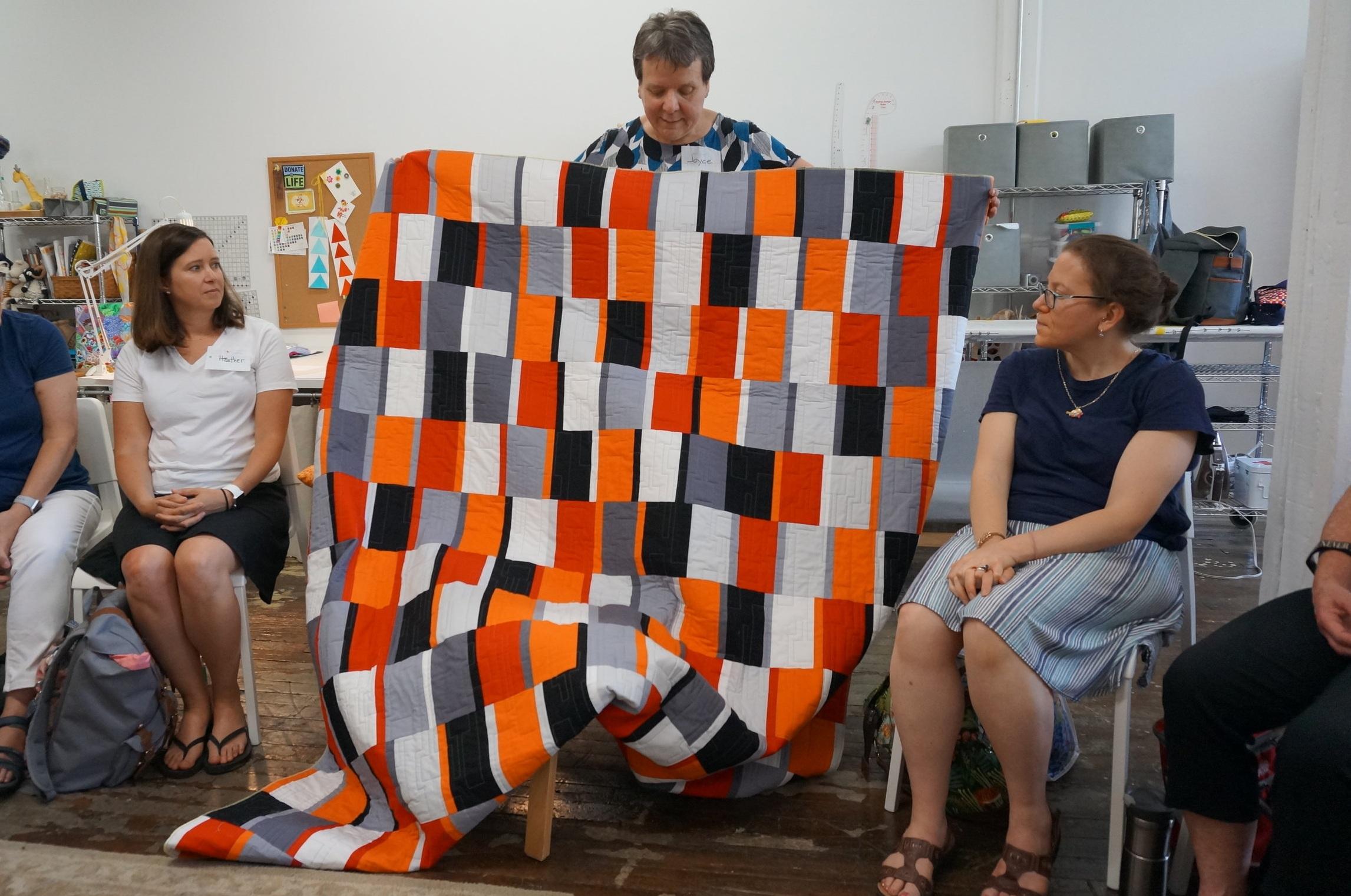Joyce's son's quilt