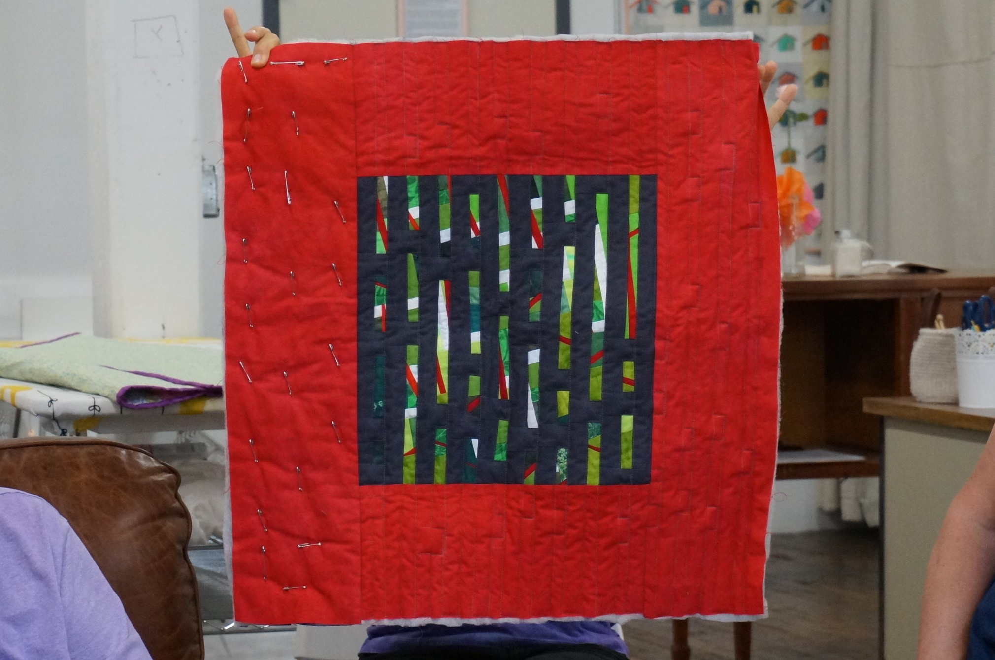 Alice's experimental block quilt