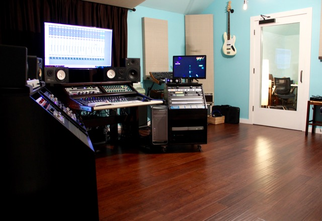 Orchestrate Sound Studio Control Room