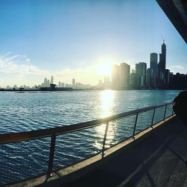 Navy Pier, Chicago Illinois. #shirleyryanabilitylab #chicago #giordanospizza #navypierchicago #coldaf
