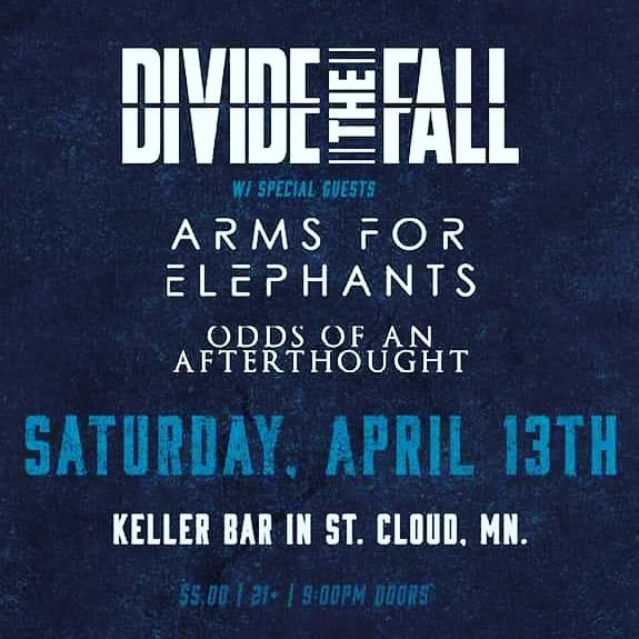 Mankato, you were incredible!! We're hitting the road for St. Cloud tonight with @oddsofanafterthoughtmn and @dividethefall at Keller Bar!