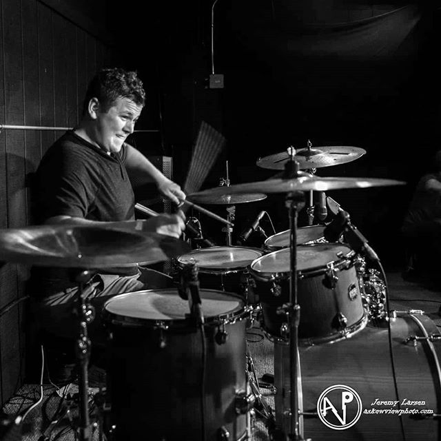 Happy Birthday to our drummer Ben Zwicke! He might be late once in a while but always keeps us on time :)