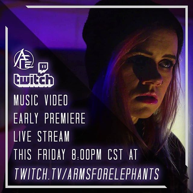 "THIS FRIDAY the 7th at 8:00pm CST we will be premiering ""The End of a Rope"" music video a WEEK EARLY live on Twitch!  Not only that, but before we show the music video the entire band is going to partake in the infamous 🔥Choco Challenge🔥 in support of the fight against prostate cancer. We must all eat an ENTIRE bar of black reaper hot pepper chocolate. Who's going to cry first? Tune in this Friday at 8pm and find out!  @fuegobox #chocochallenge #allrise #ep #theendofarope #armsforelephants #afe #musicvideo #band #guitar #metal #rock #posthardcore #minnesota"