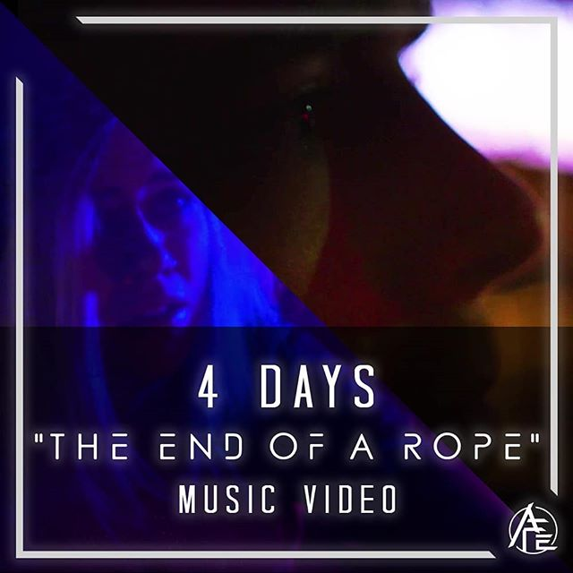 """The End of a Rope"" music video drops this Friday!"