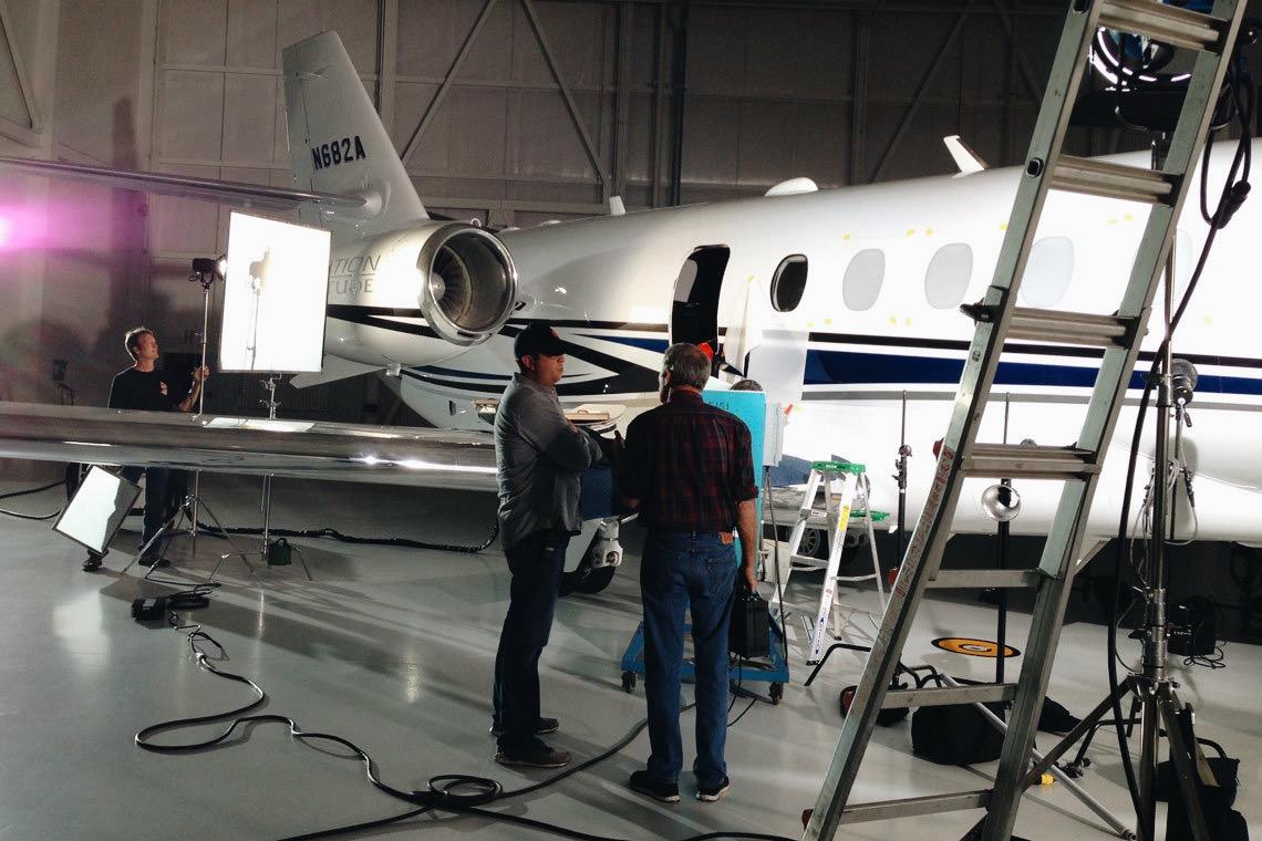 Cessna_LAT_VideoProduction_JustinMcClureCreative_BTS_1