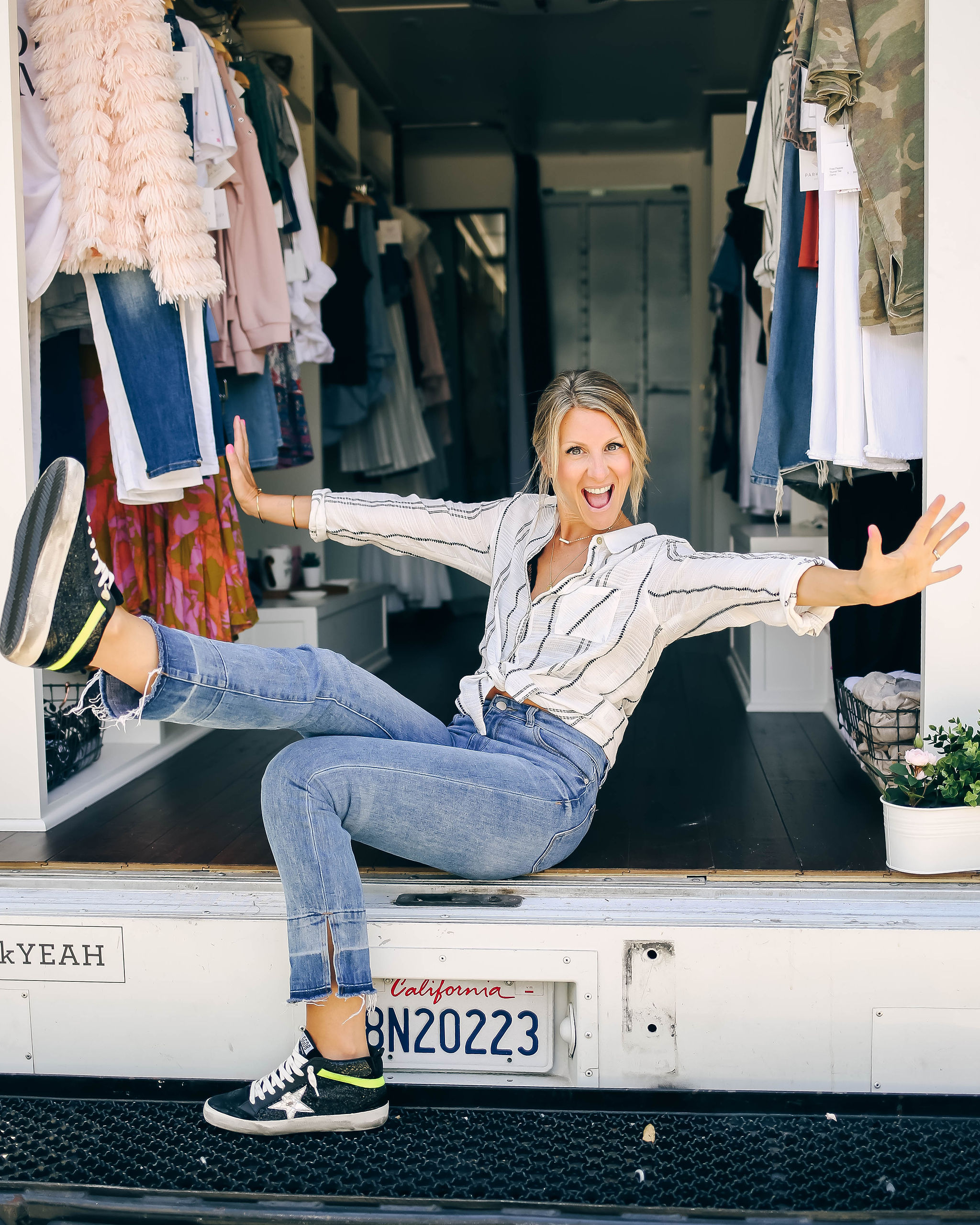 """DRIVING STYLE: MEET KELLY DOYLE OF PARK ALLEY - """"I am here to help women feel comfortable — like, good-in-their-skin comfortable — in a shopping environment."""""""