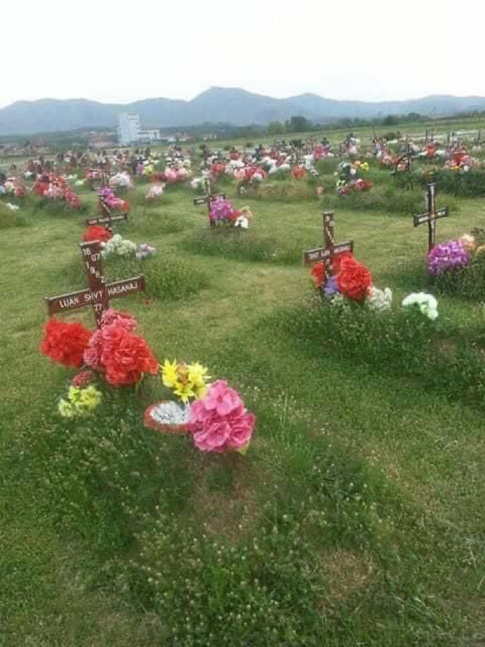 The Graves of Albanian Christians Killed During the War