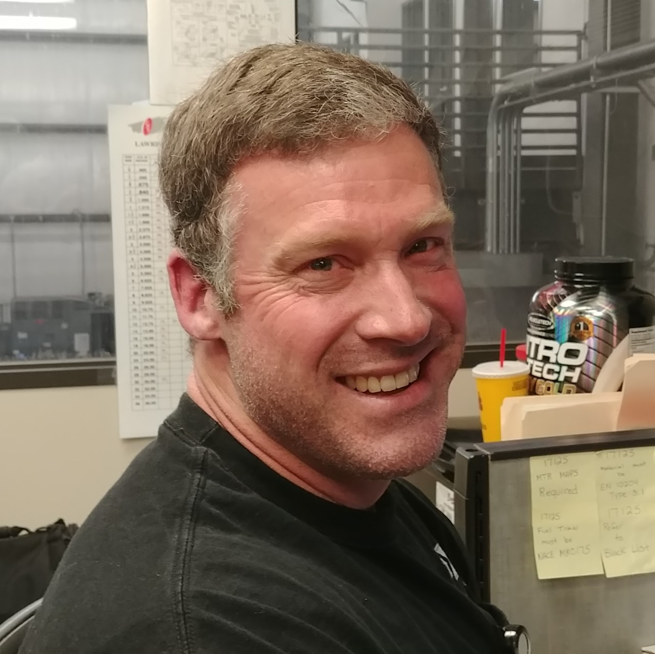 Dennis Aubrey, Quality Control Inspector.   Dennis has 20 + years experience with manufacturing and metal fabrication. He has been with Sigma Manufacturing LLC since 2011.