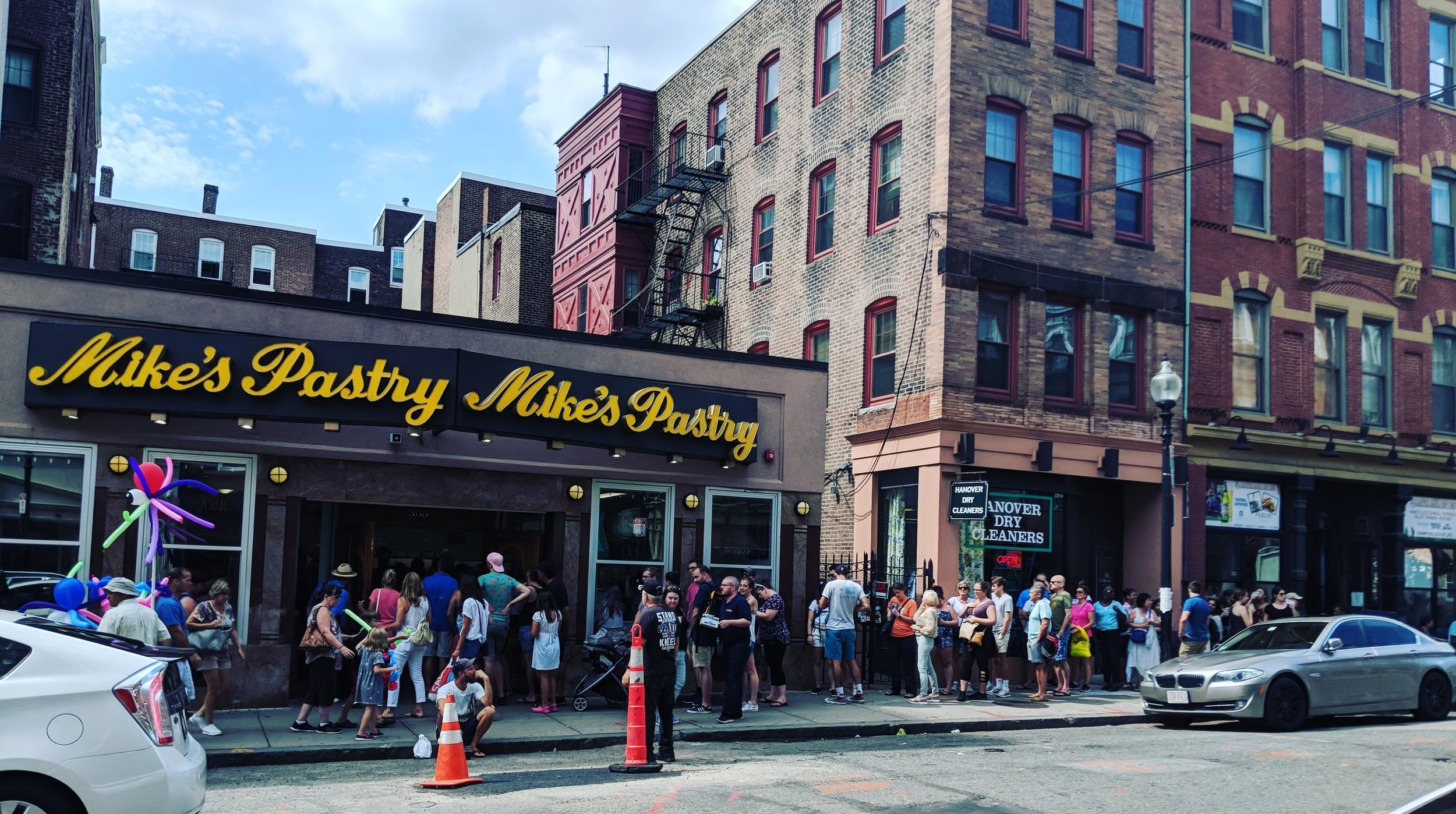 The Mike's Pastry Line