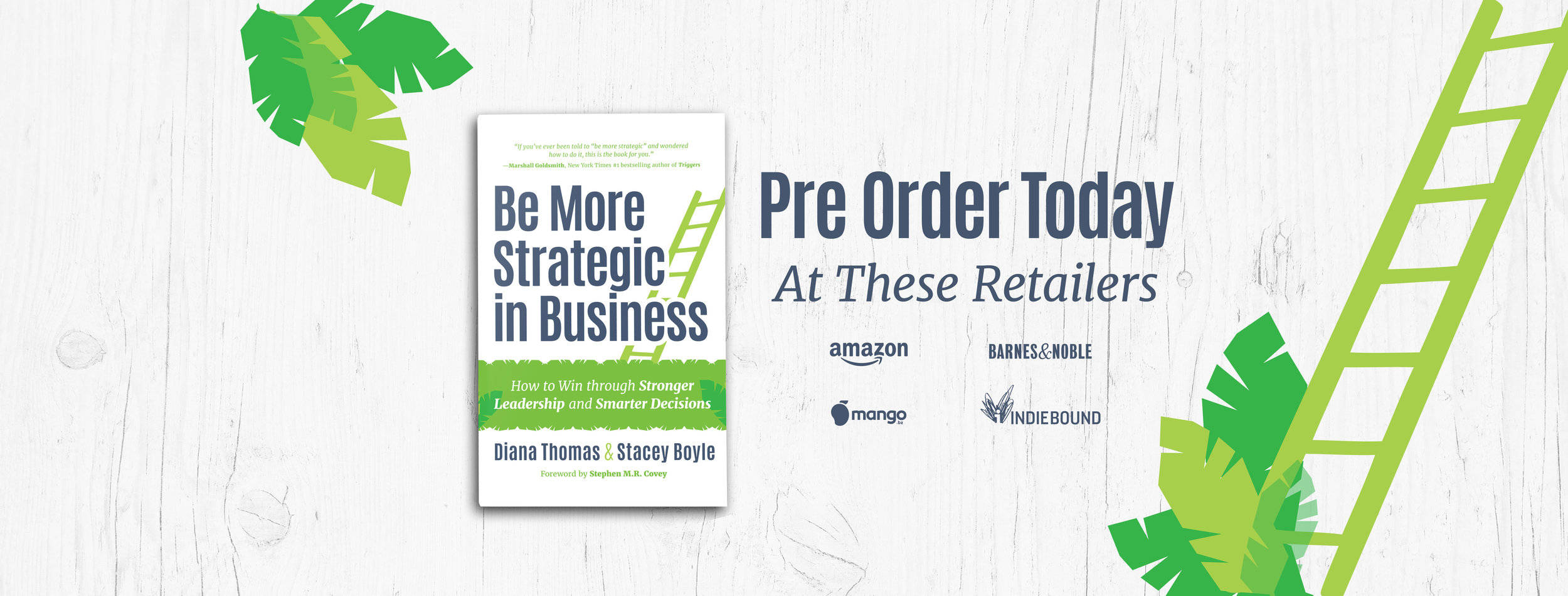 Pre-order Be More Strategic in Business
