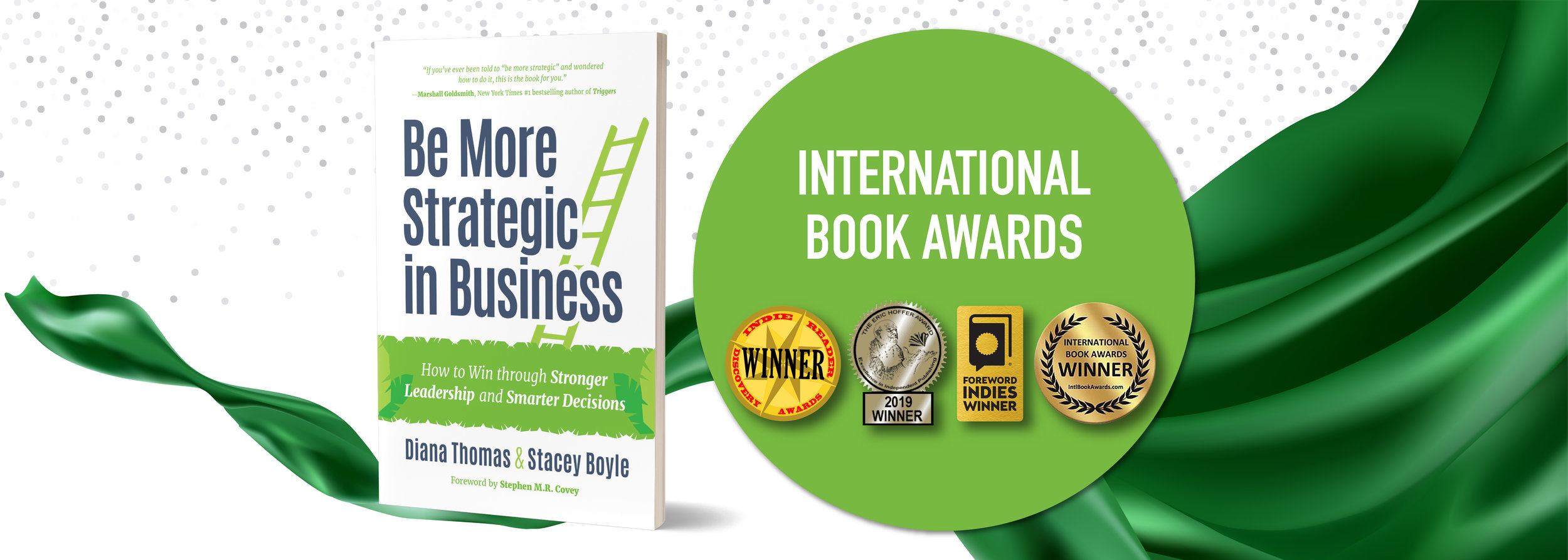 Be More Strategic in Business International Book Awards