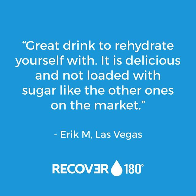 Less sugar, equally delicious. Our customers give RECOVƎR ⭐️⭐️⭐️⭐️⭐️. #drinkrecover #livelifeunlimited