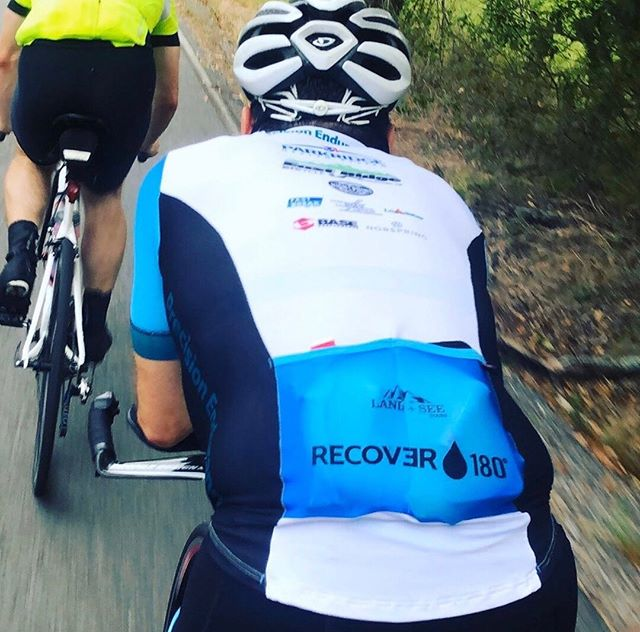 """If you're into long bike rides, long-distance running, hiking for hours, or intense exercise sessions, RECOVƎR 180 is a natural solution to your hydration woes."" - @eatthisnotthat Link in bio. #drinkrecover"