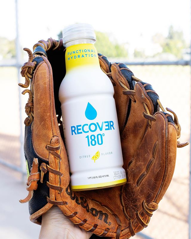 RECOVER: the perfect catch. Who are you rooting for in the #WorldSeries2019? ⚾️ #drinkrecover