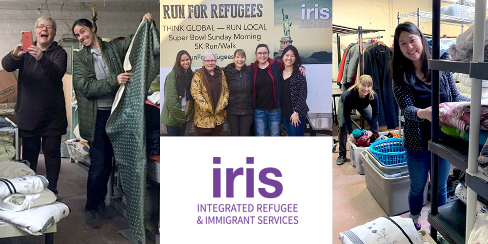 Helping those who need a home, whether it's clients or in this case, refugees, is what Morninglight do!