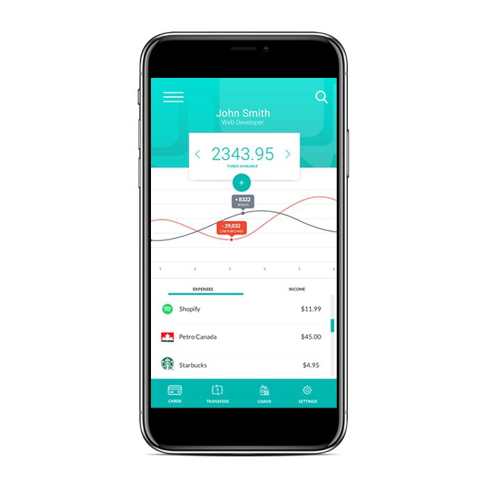 Finance App - PROJECT: Mobile App DesignSKILLS: Product Research, Wireframes, UI DesignDETAILS: Design for a finance mobile app