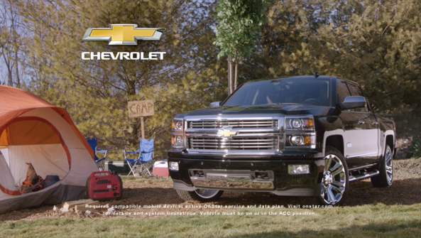 "CHEVY ""Camping"""