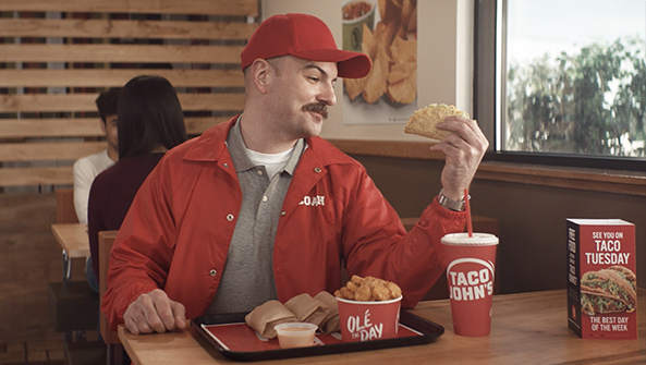 """TACO JOHNS """"Taco Tuesday"""""""
