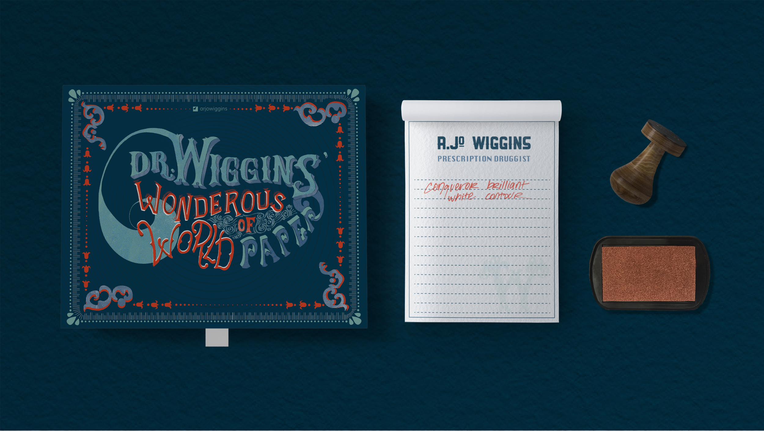 Dr. Wiggins' Wonderous World of Paper - EXPERIENCE DESIGNThis promotion for Arjo Wiggins offers creatives a tactile paper experience to cure the digital depression that often plague them.