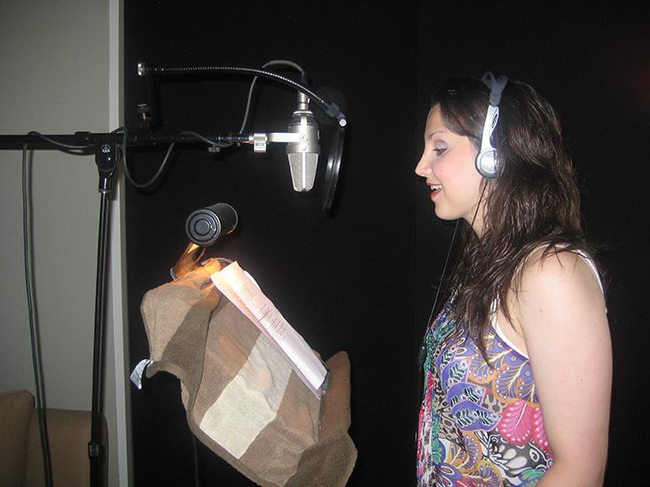 In the studio with Jason Robert Brown - 2010
