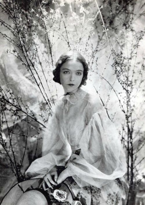 Lillian Gish photographed by Cecil Beaton