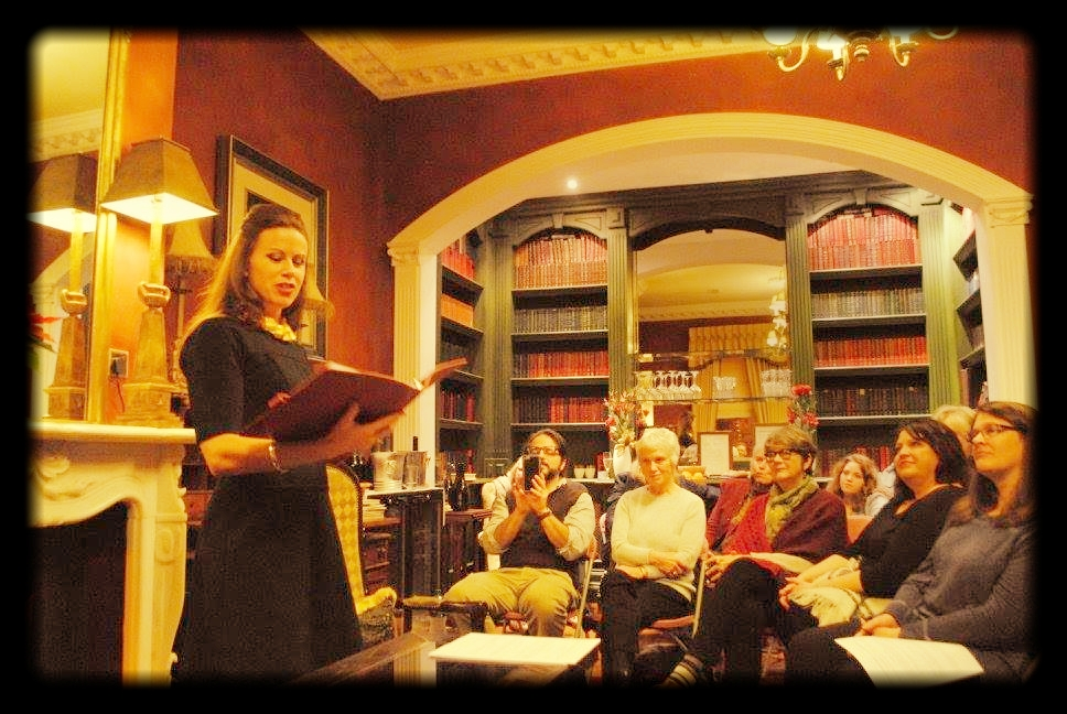 Reading in Dublin, Abroad Writers Conference