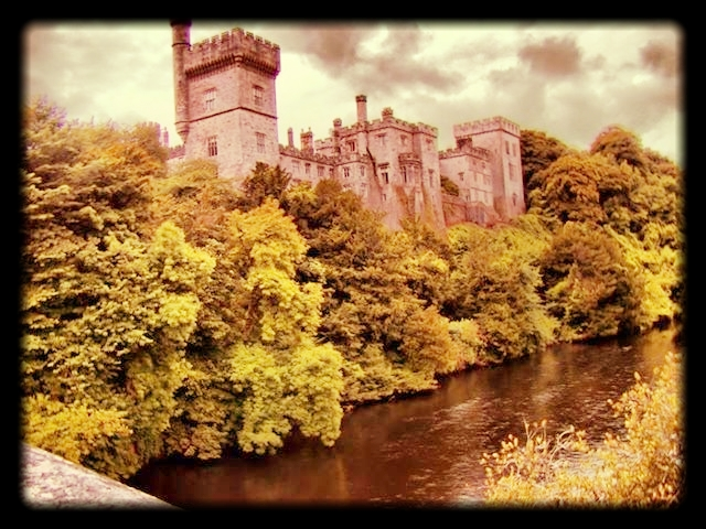 Lismore Castle, Waterford, Ireland. Almost too beautiful to write here. Abroad Writers Conference