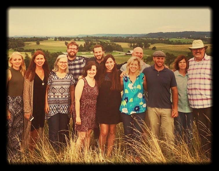 Writer camp aka Wedgwood Circle GoodLit fellowship with Bret Lott. Stanford, Kentucky