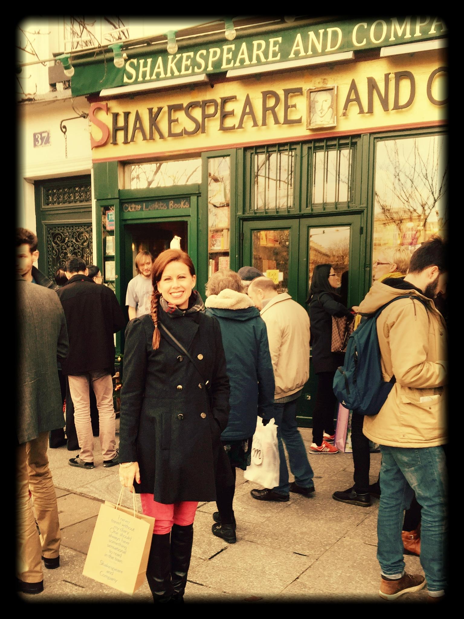 Happy Place, Shakespeare & Co., Paris
