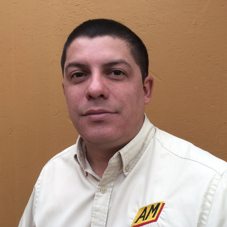 - José Alexander Cardona CardonaGerente Regional de SudaméricaAlexander cubre el territorio de Sudamérica como un represéntate al cliente. Alexander también es un ingeniero de aplicaciones. +57 321 667 2213alexander@amequipment.com