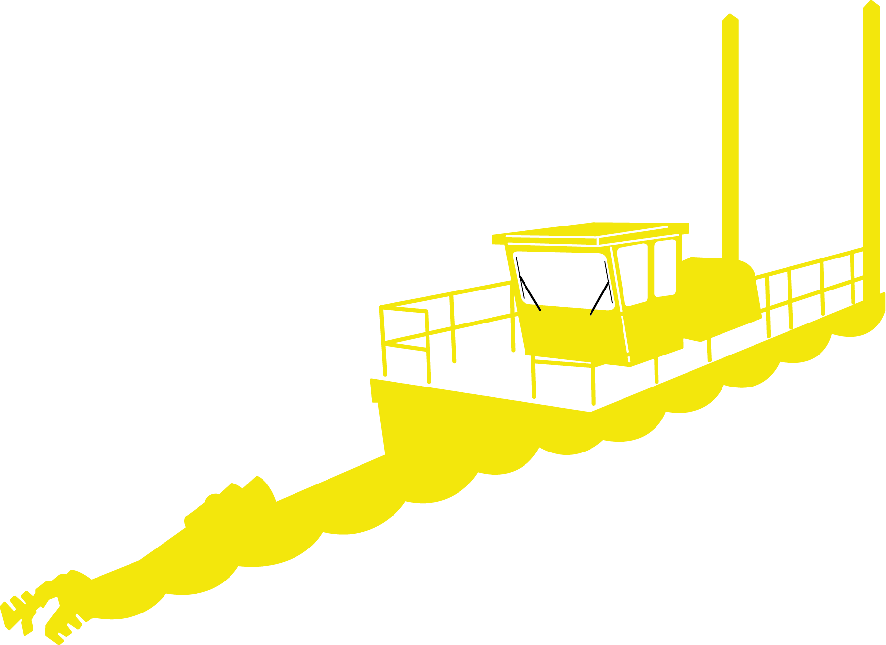 Sistema Limpiaparabrisas para Botes de Dragado