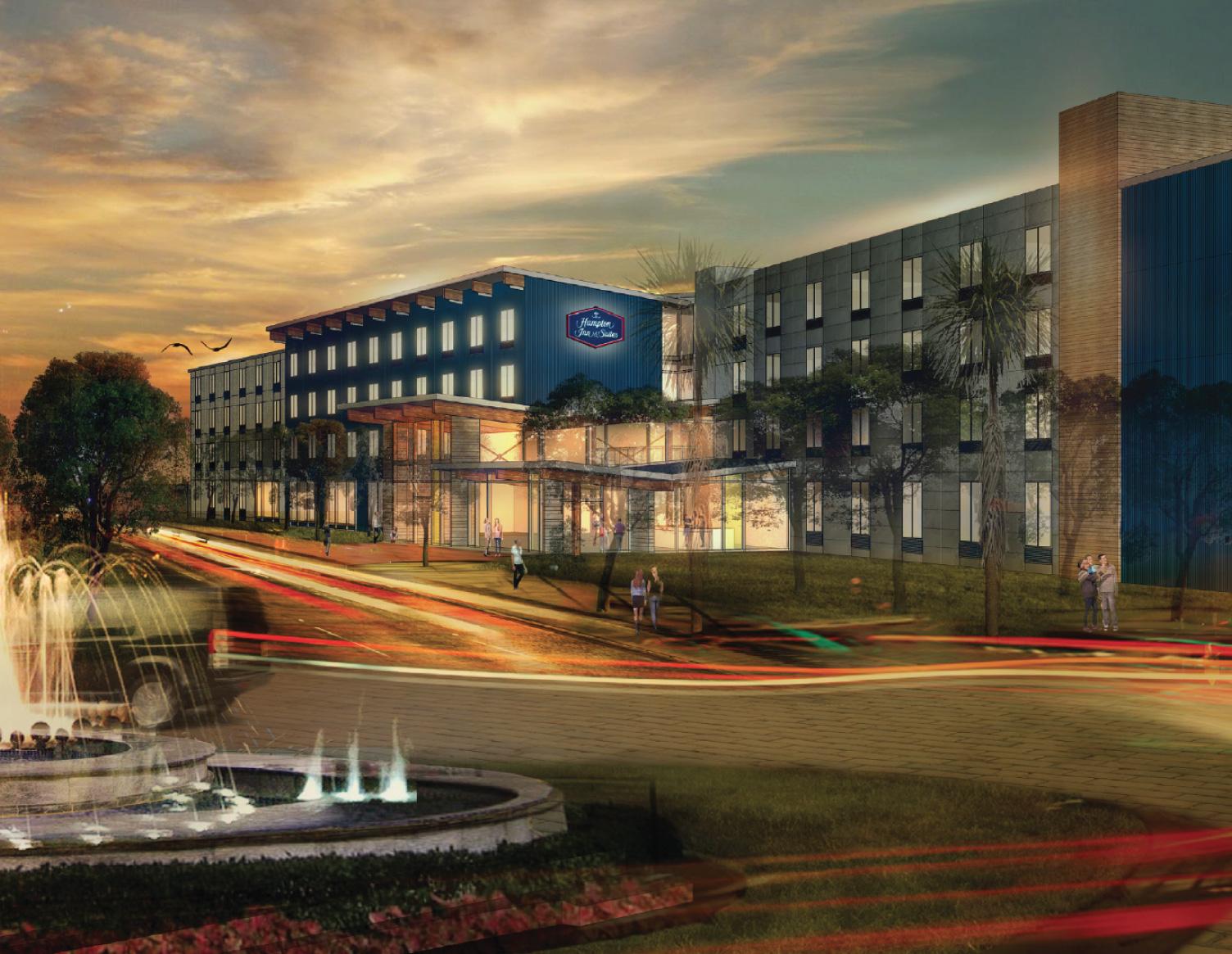 - Hampton Inn& Suites