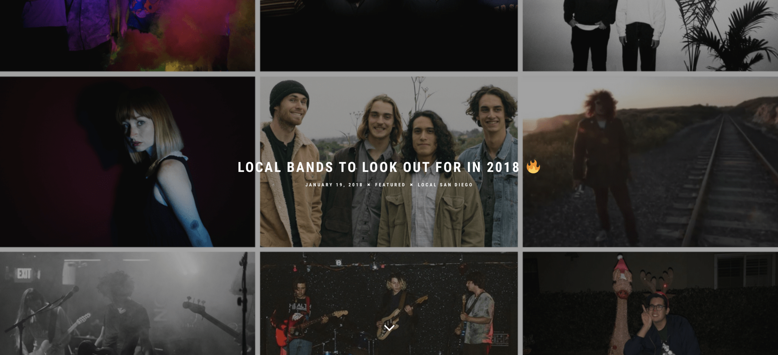 LOCAL BANDS TO LOOK OUT FOR IN 2018