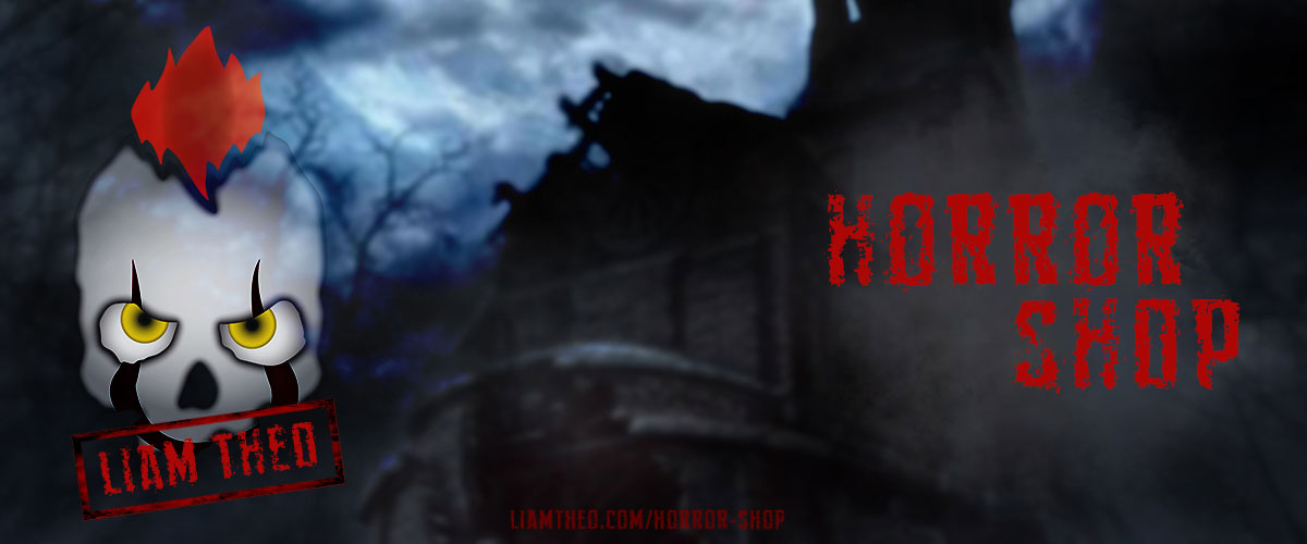 Liam Theo Creative Horror Shop featuring many items with a wicked and scary side for the Halloween season