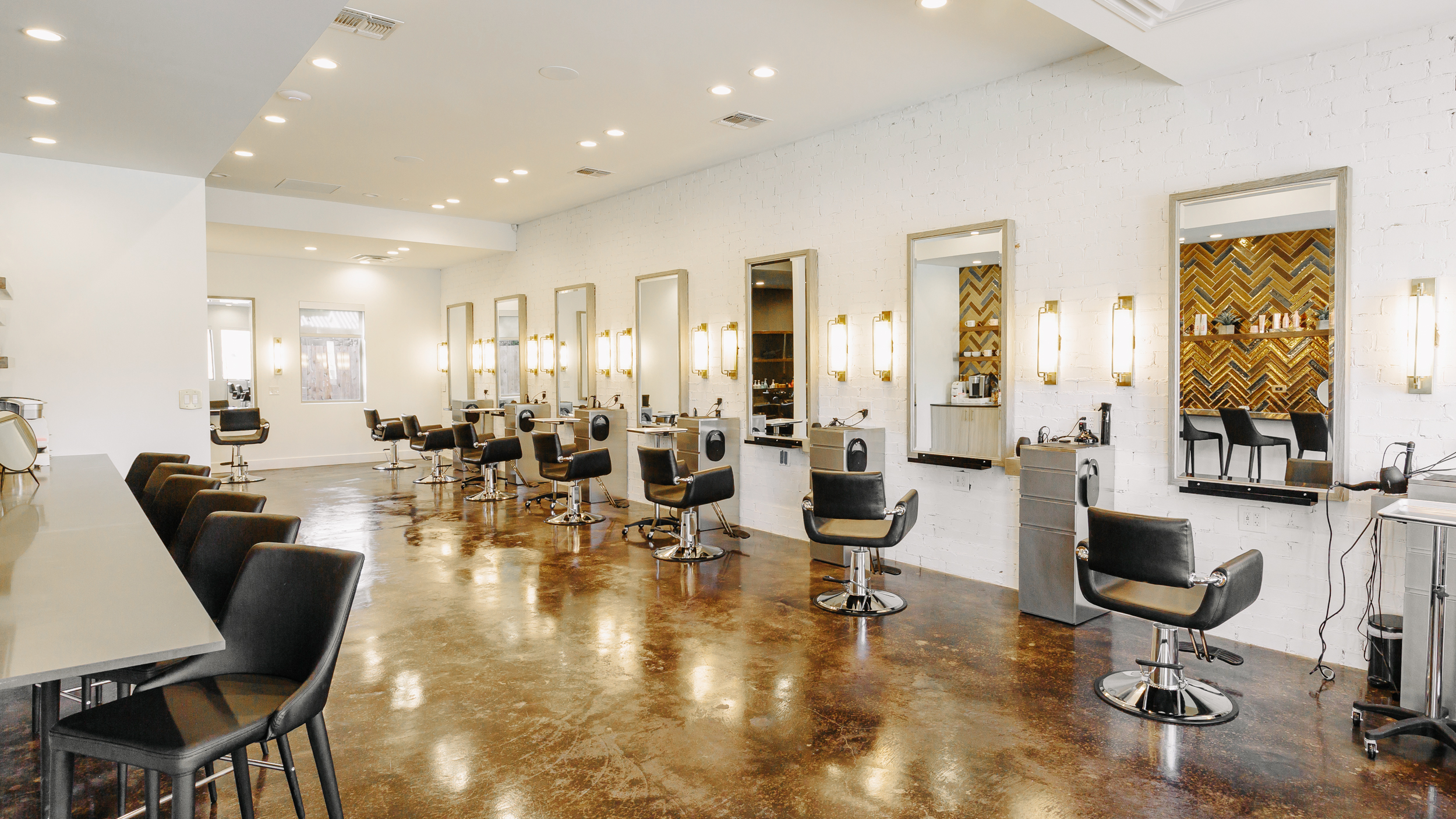 Beauty Hive Salon - Commercial Finish Out + Interior Design
