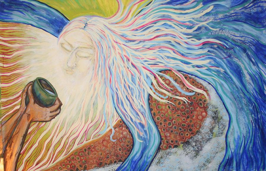 Prayer Painting {Water & Forgiveness}
