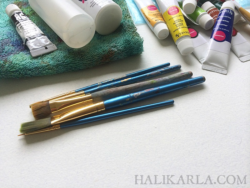 must-have air travel carry-on art journal supplies