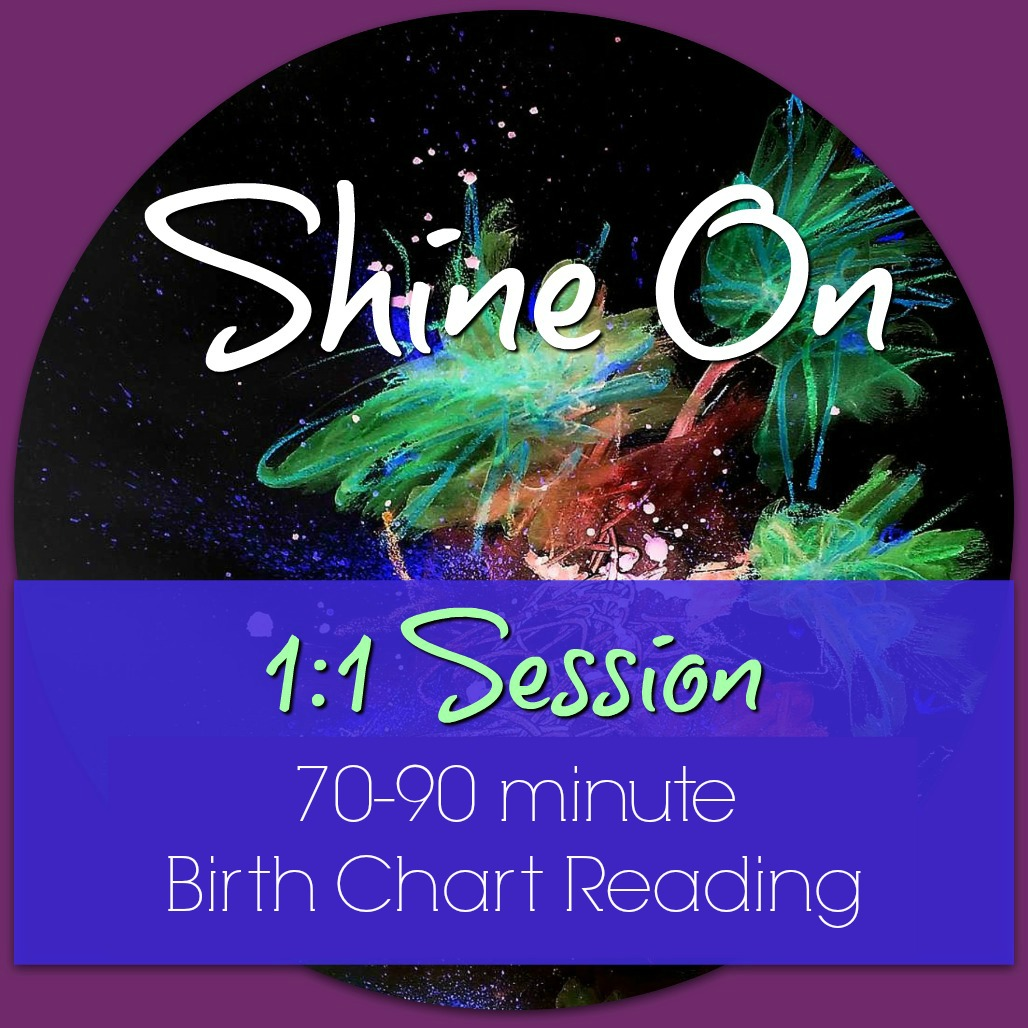 Shine-On Session :: - A one-on-one Zoom meeting with me… a more interactive choiceWe will meet up on Zoom via webcam (preferred) or phone for your reading.The live-online Zoom call readings will be scheduled according to my availability in the eastern timezone of the states, including possible times between 11am - 7pm on Tuesdays, Wednesdays, Fridays and some Saturdays.If you need a timezone converter GO HEREYou will receive a free mp3 audio recording of our call afterwards to download and keep.