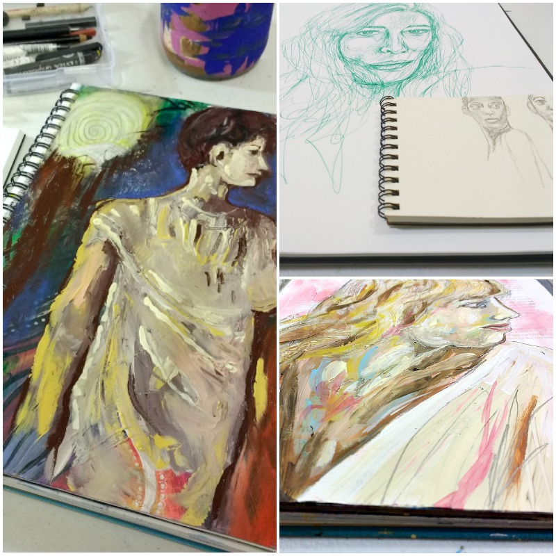 Creative Practice portraits in Essence with Hali Karla Arts