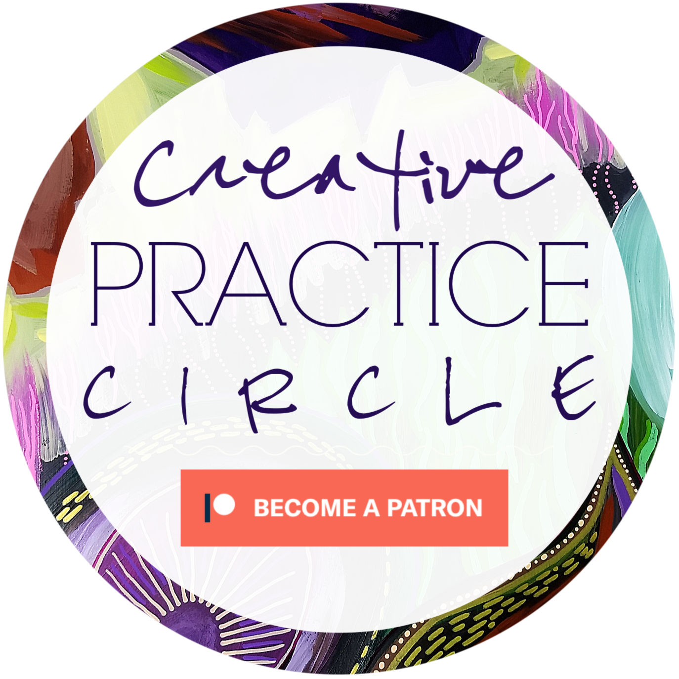 Creative Practice Circle - online art-date with like-hearted creatives (Hali Karla Arts)