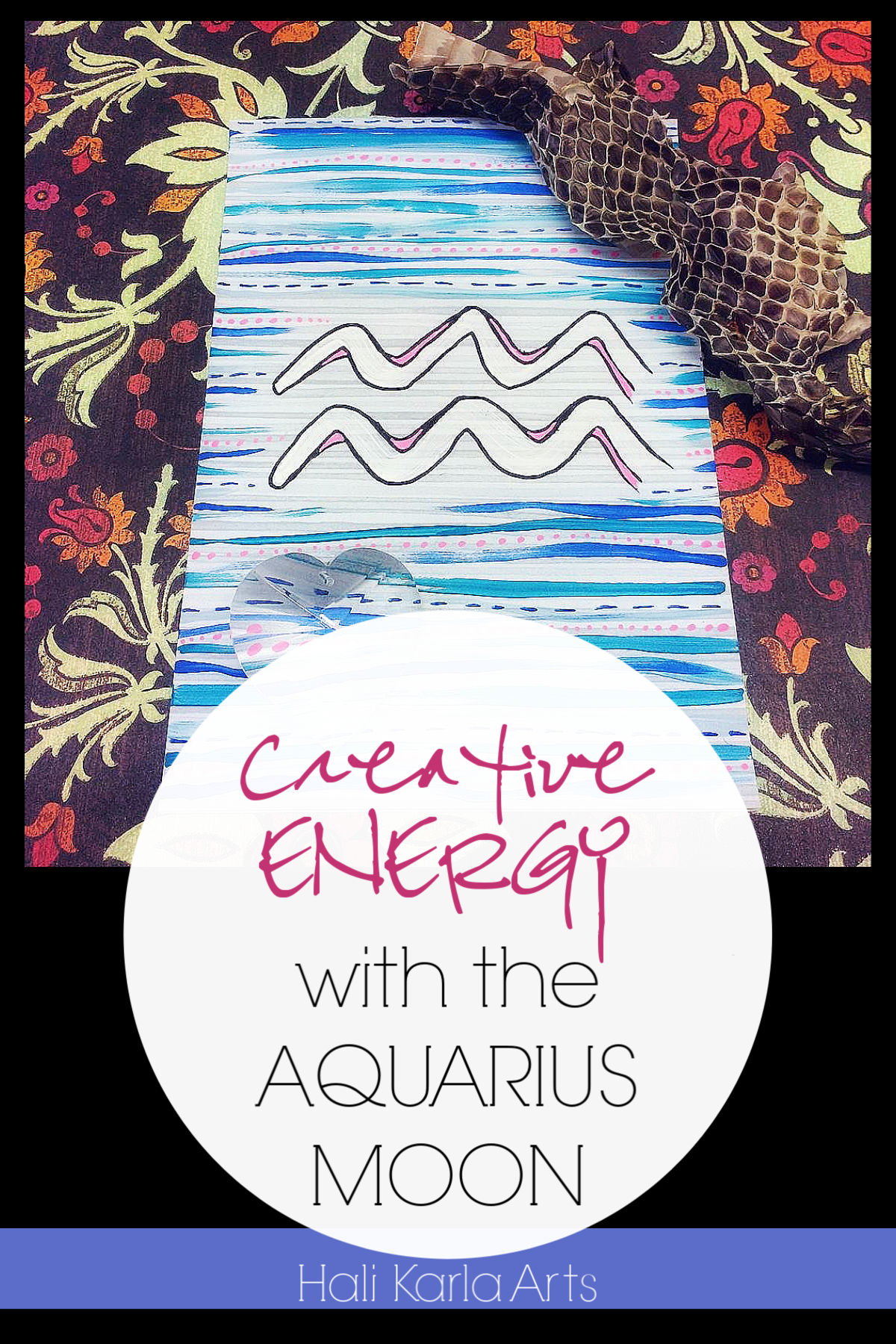 Creative Energy with the Aquarius Moon