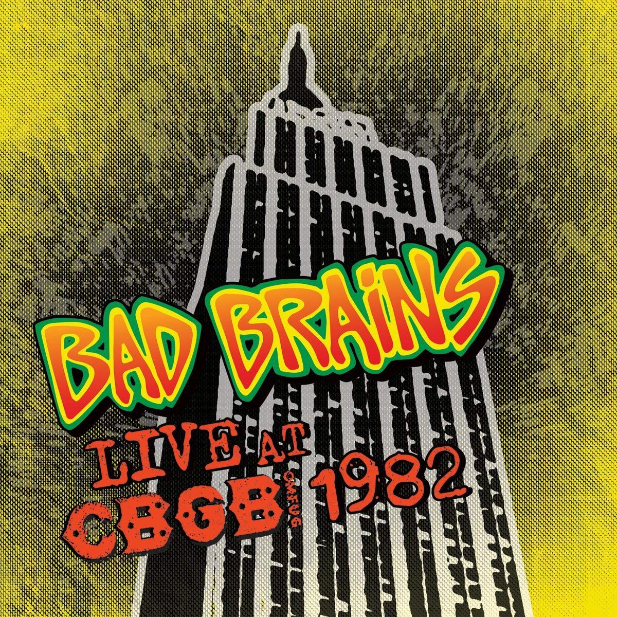 BAD BRAINS - LIVE AT CBGB'S 1982 $20 @ 2010 MVD Audio / CBGB
