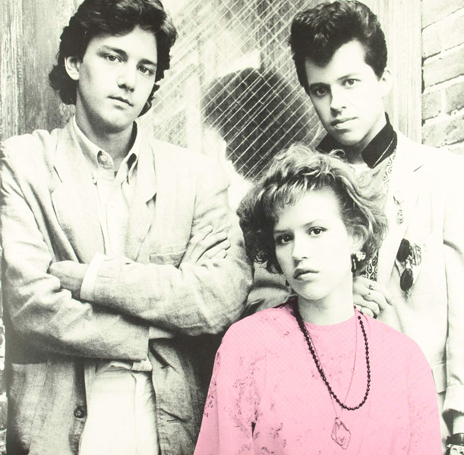 PRETTY IN PINK - ORIGINAL SOUNDTRACK $28 pink vinyl @ 1986 A&M Records
