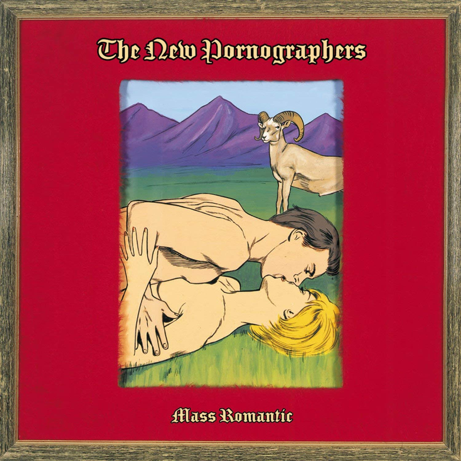 THE NEW PORNOGRAPHERS - MASS ROMANTIC $25 download card @ 2003 Matador Records