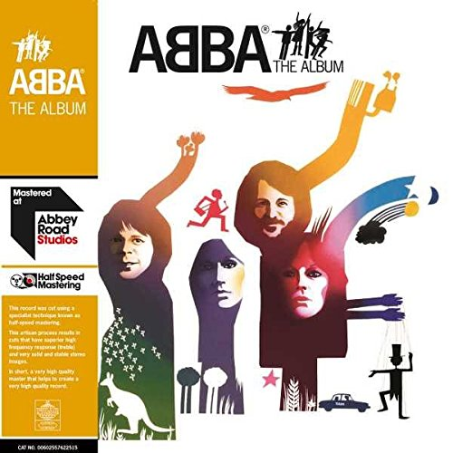ABBA - THE ALBUM $34 half-speed remastered made in germany @ 1977 Polar Music International