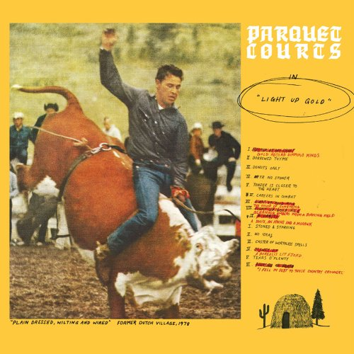 PARQUET COURTS - LIGHT UP GOLD $20 @ 2012 Dull Tools