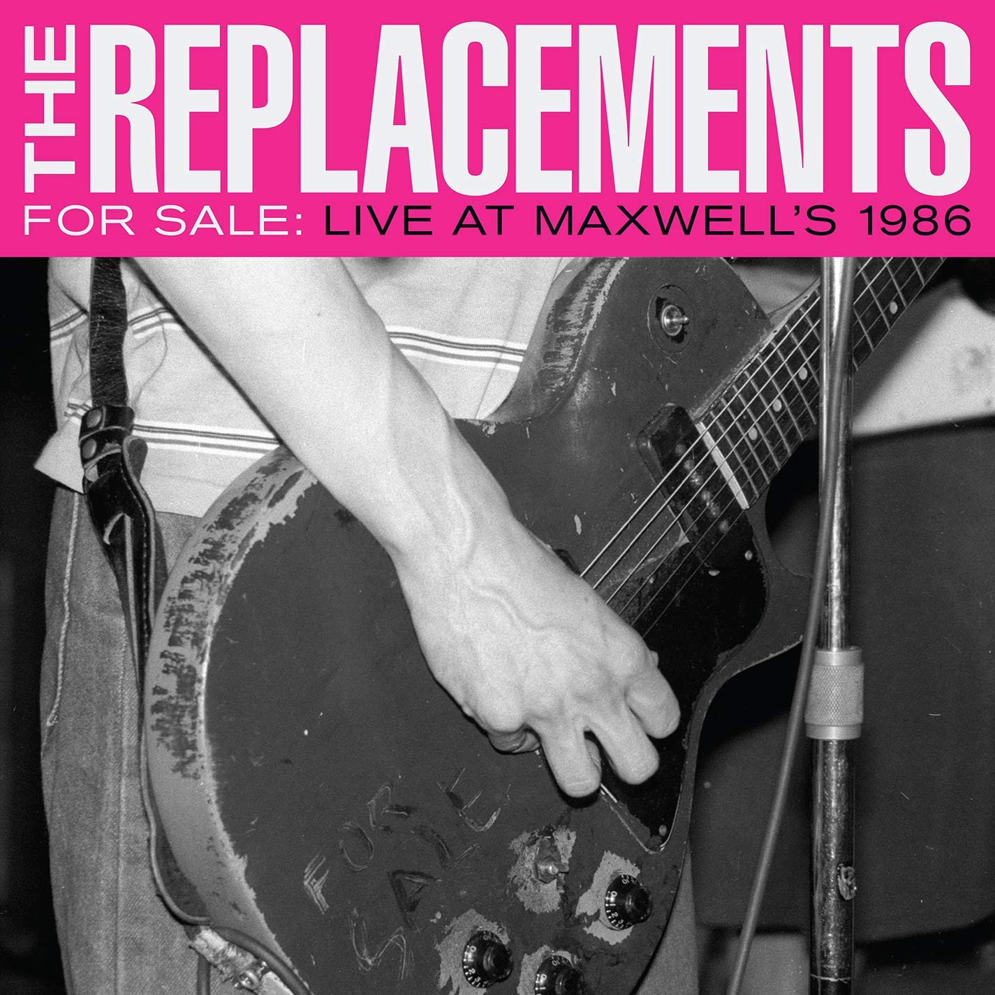 THE REPLACEMENTS - LIVE AT MAXWELL'S 1986 $31 first official live album @ 2017 Sire Records