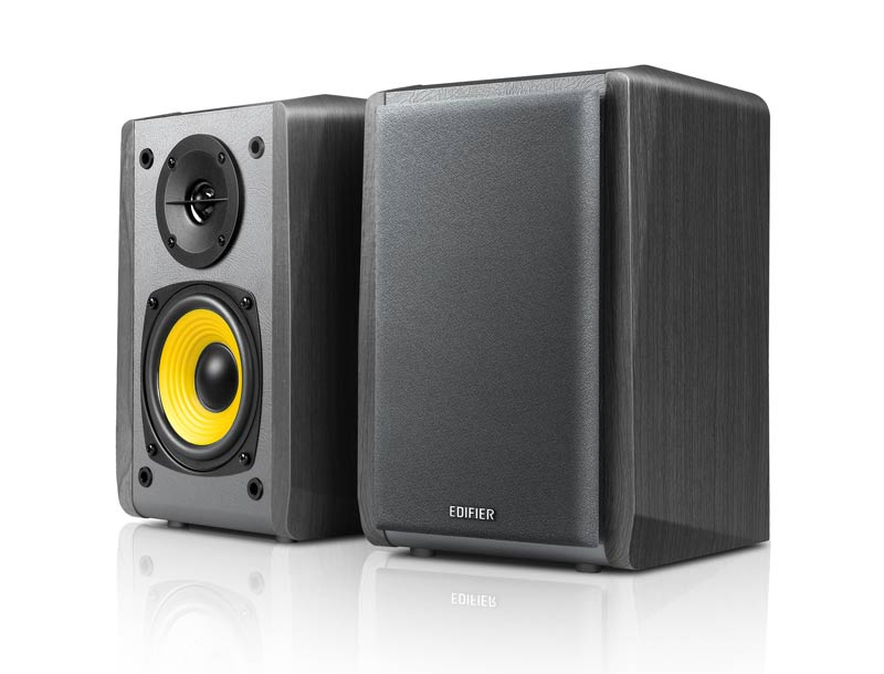 Edifier - R1010BT- Bluetooth Wireless/Wired Bookshelf Speakers - Black $105